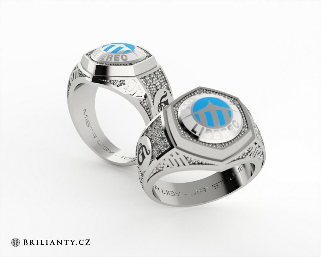 Prsten ze Zlatnictví Danfil Jewellery s. r. o., Liberec