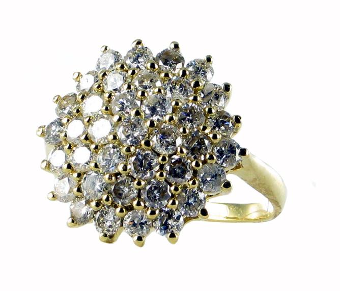 Diamantový prsten ze Zlatnictví Ouda Diamonds, Praha
