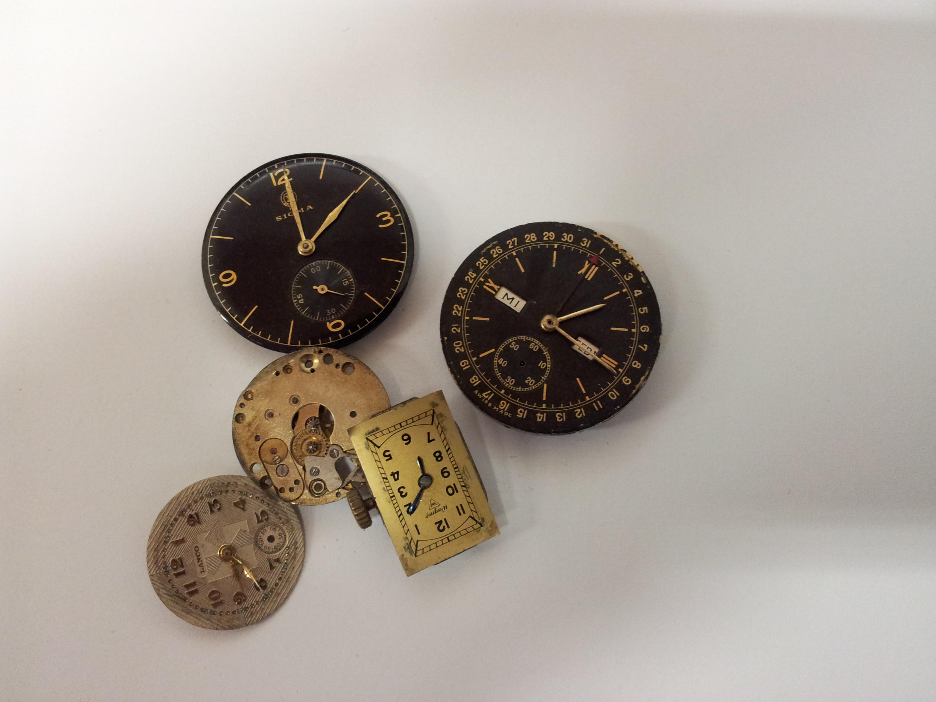 Staré hodinky ze Zlatnictví Šárka Pecková, Liberec
