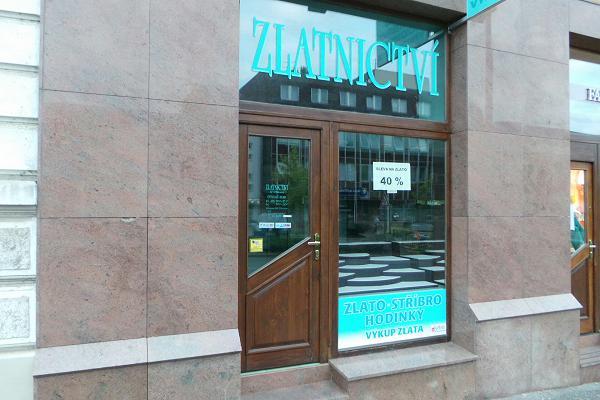 Prodejna Zlatnictví At Seba s.r.o., Mladá Boleslav