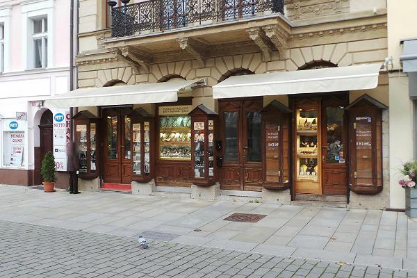 Prodejna Zlatnictví Dea, Karlovy Vary