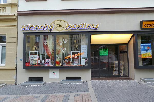 Prodejna Zlatnictví Magic Safír, Karlovy Vary