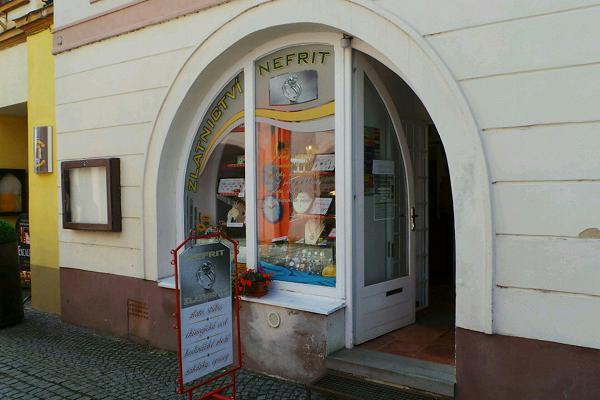 Prodejna Zlatnictví Nefrit, Moravská Třebová