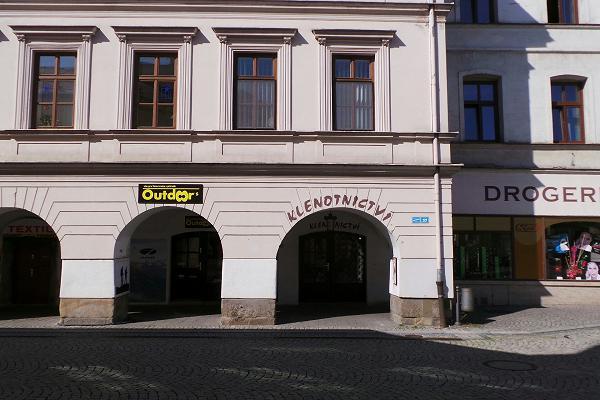 Prodejna Zlatnictví Veronika, Frýdek-Místek