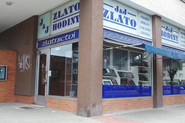 Prodejna Zlatnictví Alice Jandová, Hradec Králové