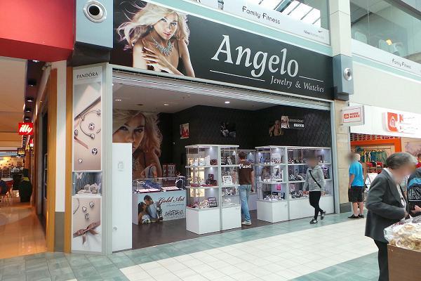 Prodejna Zlatnictví Angelo, Praha
