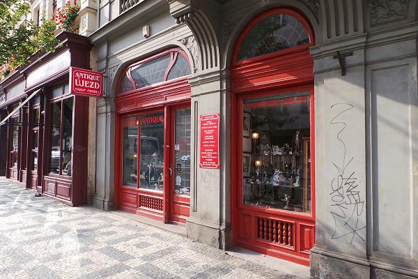 Prodejna Zlatnictví Antique Újezd s.r.o., Praha