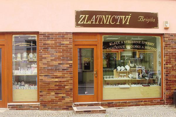 Prodejna Zlatnictví Brigita, Velké Meziříčí