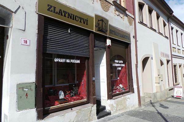 Prodejna Zlatnictví Daniel Brázda, Česká Lípa