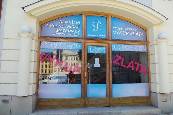 Prodejna Zlatnictví Dental D, Olomouc
