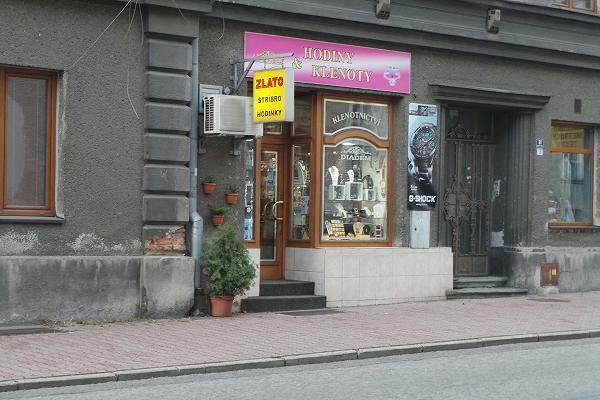 Prodejna Zlatnictví Diadém, Český Těšín