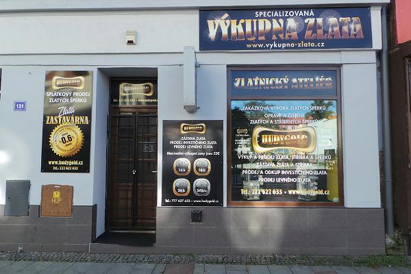 Prodejna Zlatnictví HudyGold, Bohumín