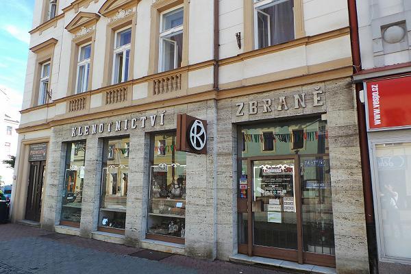 Prodejna Zlatnictví Jan Horák, Jičín