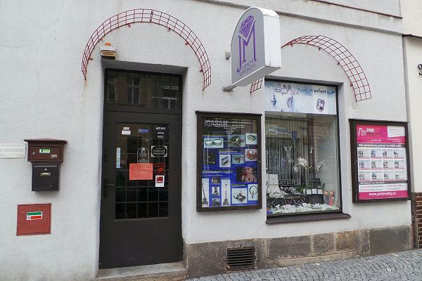 Prodejna Zlatnictví Bc. Jana Munzarová, Dvůr Králové nad Labem