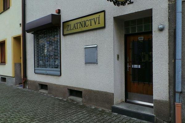 Prodejna Zlatnictví Jana Podhorníková, Choceň