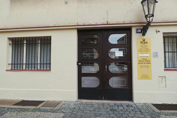 Prodejna Zlatnictví MOŠNA a.s., Praha