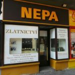 Zlatnictví Nepa, Pardubice