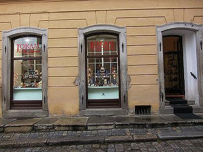 Prodejna Zlatnictví pod věží spol. s r.o., Český Krumlov
