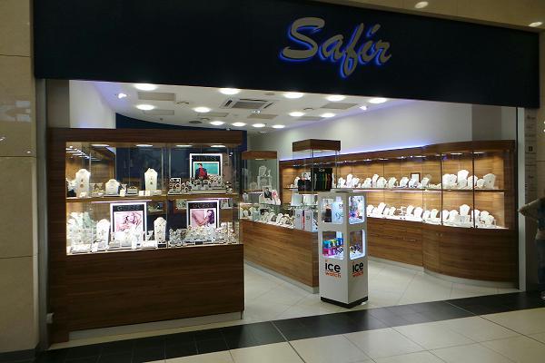 Prodejna Zlatnictví Safír, Ústí nad Labem