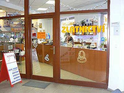 Prodejna Zlatnictví u Měnínské Brány, Brno