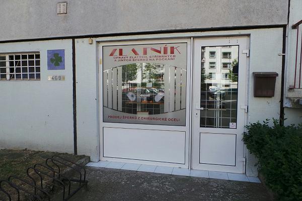 Prodejna Zlatnictví Veronika Homolová, Pardubice