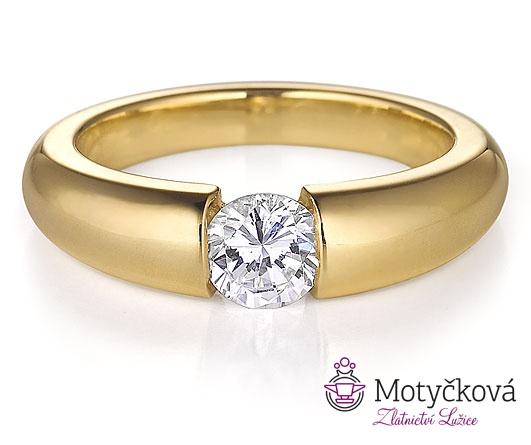 Prsten ze Zlatnictví Lenka Motyčková, Lužice