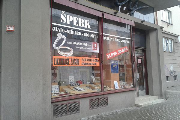 Prodejna Zlatnictví Šperk, Hradec Králové