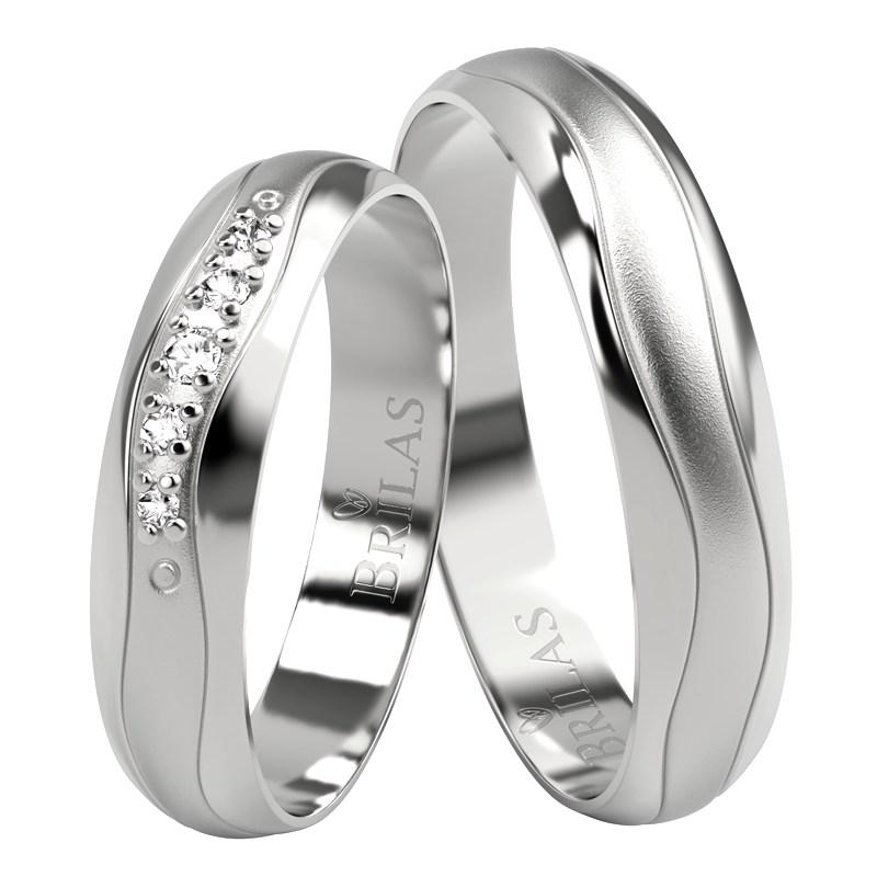Snubní prsten ze Zlatnictví BRILAS, Zlín