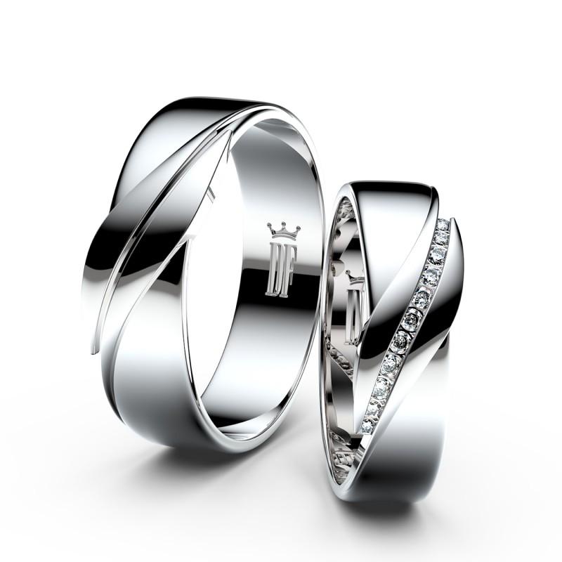 Snubní prsten ze Zlatnictví Danfil, Liberec