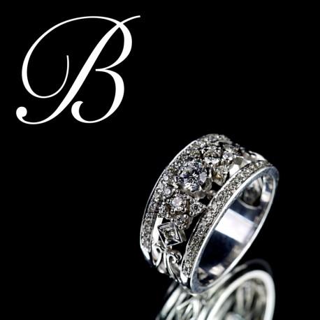 Zásnubní prsten ze Zlatnictví Babayan, Brno