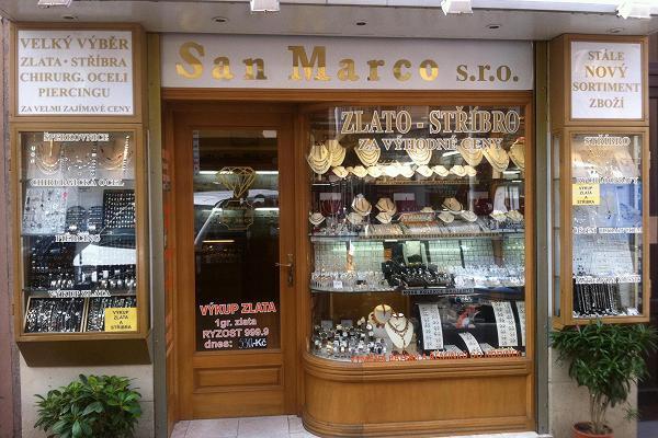 Prodejna Zlatnictví San Marco s.r.o., Praha