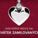 Valentýn 2019 🛍️ Sleva 10 % na přívěsky se srdíčkem a zásnubní prsteny