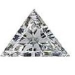 white-american-diamond-triangle-cut
