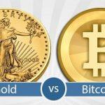 Zlato versus Bitcoin
